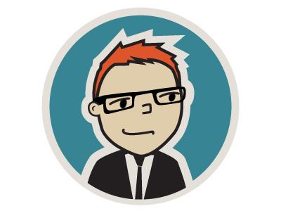 Character Illustration logo shirt  tie web design branding character illustration lisa m. dalton illustration design character design