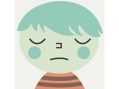 Sad Boy  usa president politics hillary election democrat clinton campaign america imwithher illustration sad