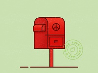 Peace Post Box