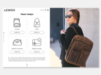 Backpack online shop LEWOX