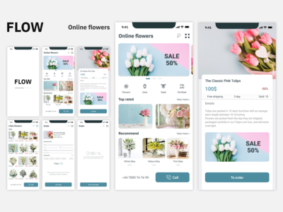 Flowers shop IOS app