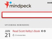 Mindpeck Dashboard Design