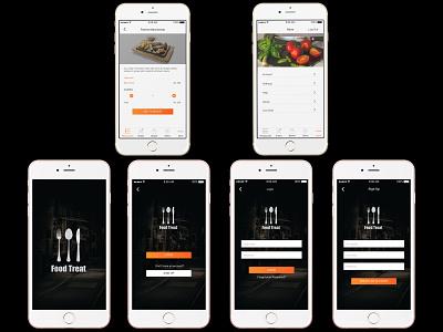 Online Food Order ui online shopping mobile application