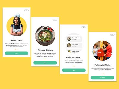 Onboarding for online food order foodordering design ui design online shopping mobile application mobile