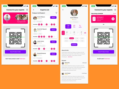 Connect to Expert connectexpert connect expert ui design mobile application ui