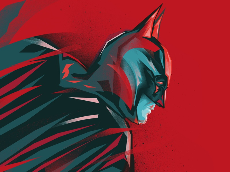 BATMAN dccomics digitalart digital illustration fanart illustration batman