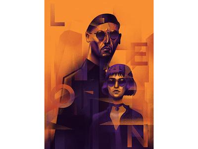 LeonTheProfessional fanart movieposter digital illustration digital painting digitalart