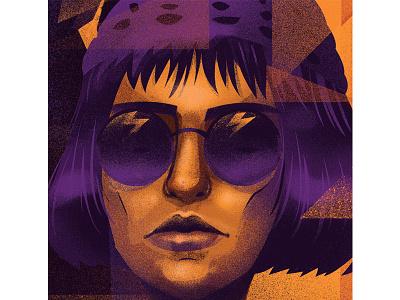 Mathilda posterart fanart illustration leontheprofessional