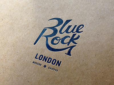 Blue Rock: Modern Chipper identity logo product packaging design