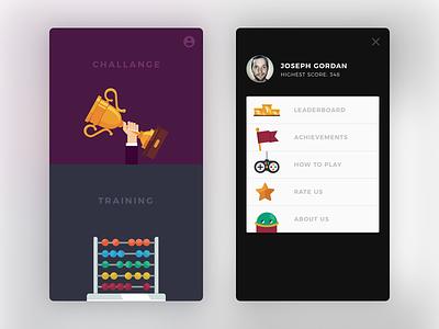 Digit Game fun sum digit game android interface minimal clean ux ui app