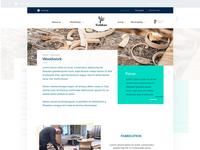 Website design draft