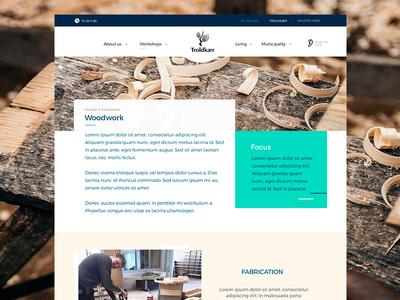 Website design draft website school colors slider