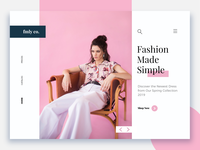Fashion frontpage - Daily eCommerce #3