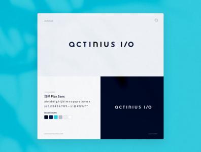 Logo Design IoT Consultancy   Actinius