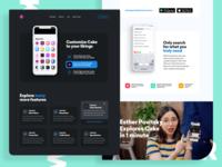 Cake Browser   Website for an Innovative Mobile Browser