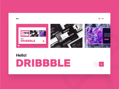 Debut Shot | Hello Dribbble! first post first shot hello dribbble debut shot website design web design webdesign web dribbble debut