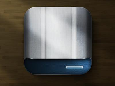 iOS Hard Drive Icon icon ios hard drive