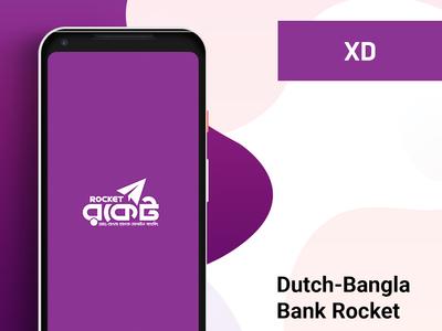 Dutch Bangla Bank, Rocket App Redesign Concept