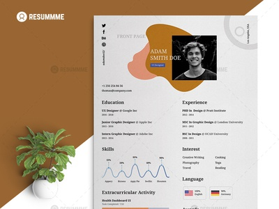 Graphic Designer Resume Template