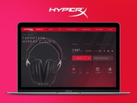 Kingston HyperX shop-in-shop