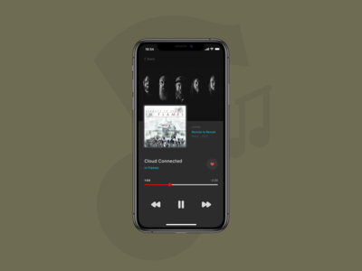 Daily UI :: 009 — Music Player