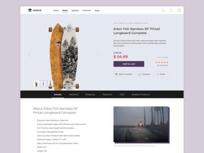 Daily UI :: 012 — E-Commerce Shop (Single Item)