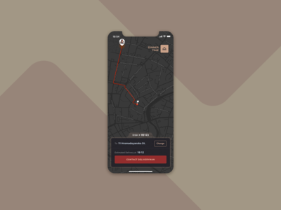 Daily UI :: 020 — Location Tracker