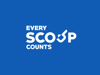 Every scoop counts campaign branding