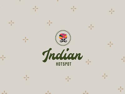 Indian Hotspot Branding creative art direction design food logo design illustration typography logo brand guidelines branding