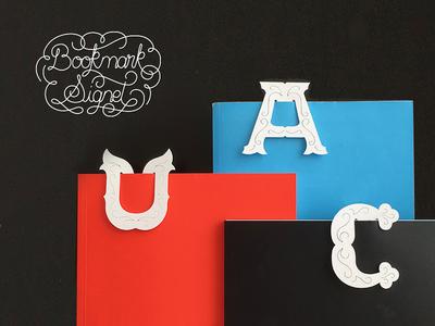 Alphabet Bookmarks