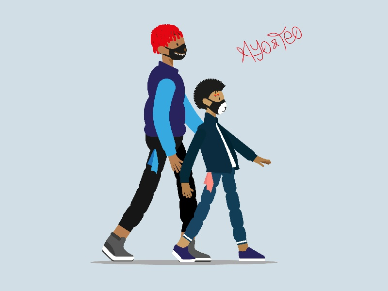 ayo teo by oussama mezher dribbble dribbble