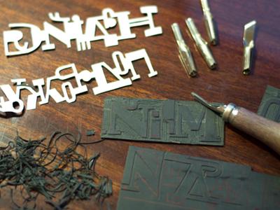 Linocut process