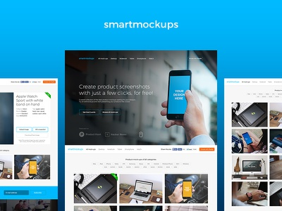 Smartmockups is alive! dunnnk placeit freelancer mockups template design free tool online smartmockups mockup