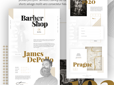 Concept No. 1 – Barber Shop