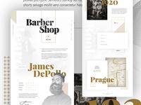 Concept No. 1 – Barber Shop