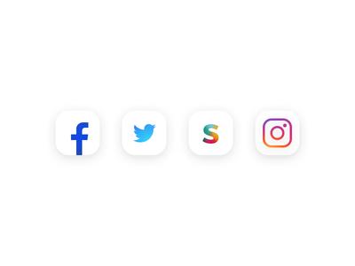 Twitter Facebook Instagram Icon