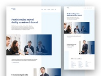 Legal Service - Homepage Concept