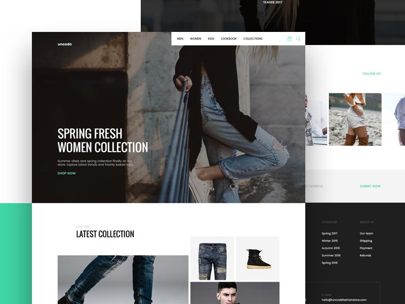 UNDSGN - Fashion Microsite style store lookbook wordpress undsgn responsive eshop ecommerce fashion template