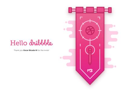 Raising my Dribbble banner!