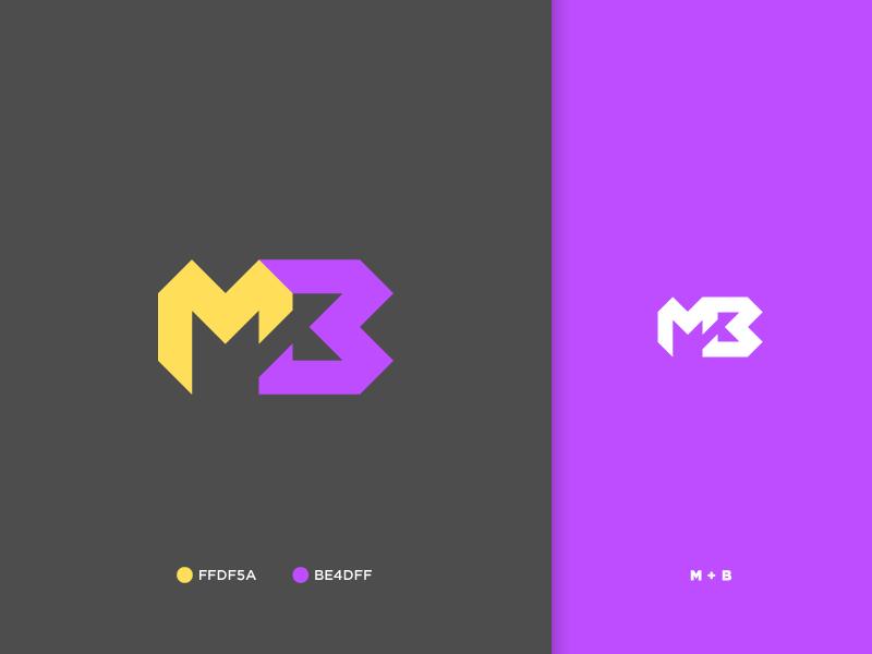 Personal Monogram branding graphic design monogram logo monogram logo icon
