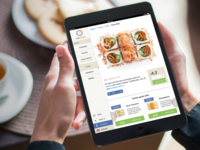Taki Sushi iPad Menu