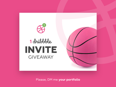 Dribbble Invite productdesigner digitaldesigner interactiondesign appdesigner uxdesigner userinterface dribbble best shot uidesign dribbble invites dribbble invite dribbble