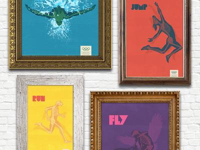 Olympics London 2012 Posters
