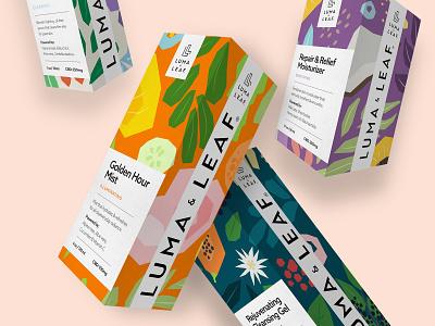 Luma & Leaf vector ui design website logo ui web design graphic design illustration typography branding
