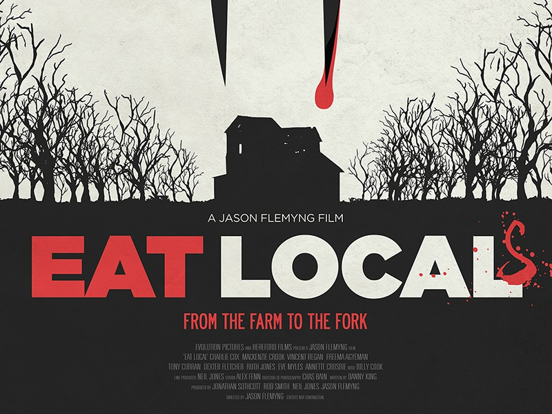 eat local movie poster by mike kus dribbble dribbble
