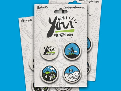 Shopify Pin Badges