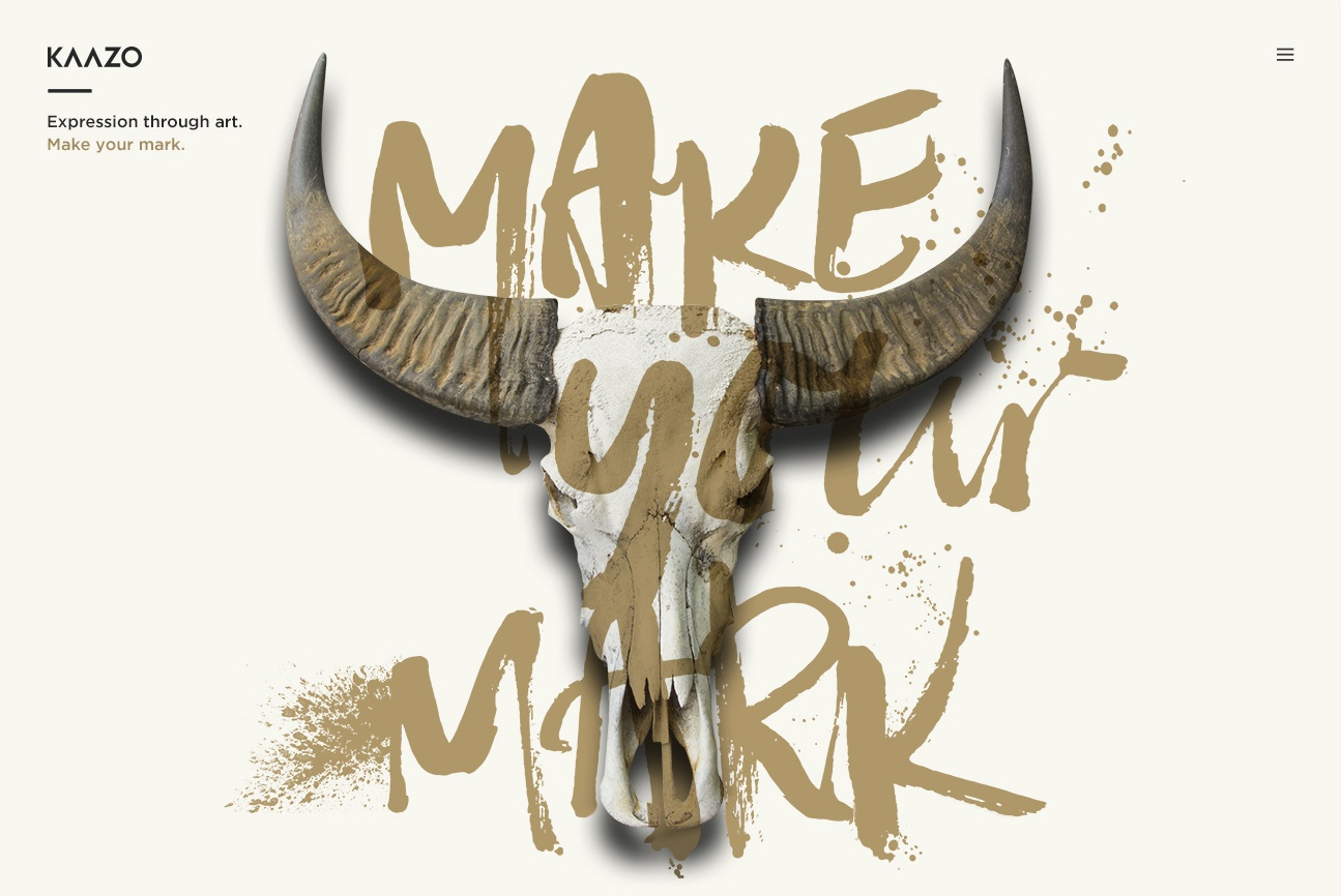 Make your mark skull