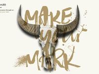 Make your mark skull