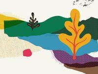 Layered Illustration