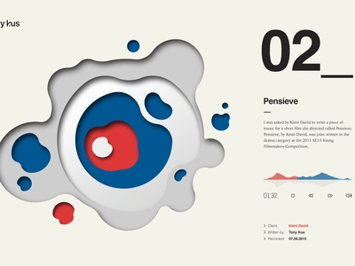 Website design for composer geometric chart website icons iconography illustration typography ux ui graphic design web design